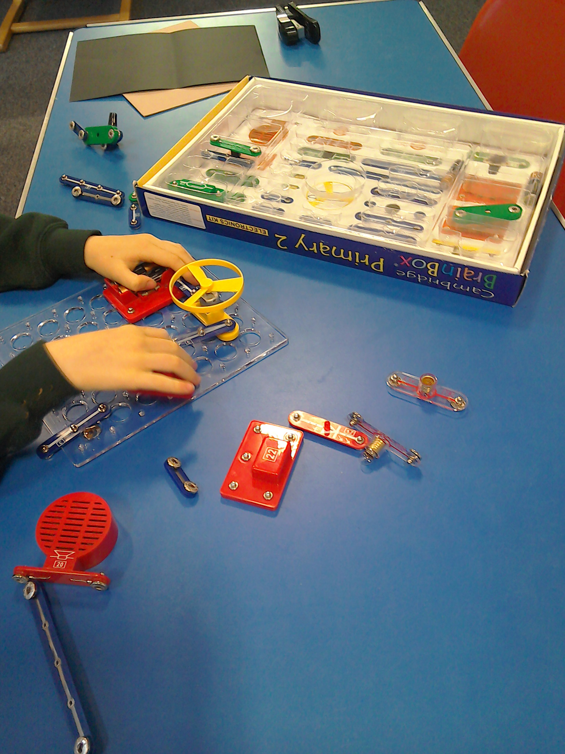Today we are making electrical circuits, banana muffins and